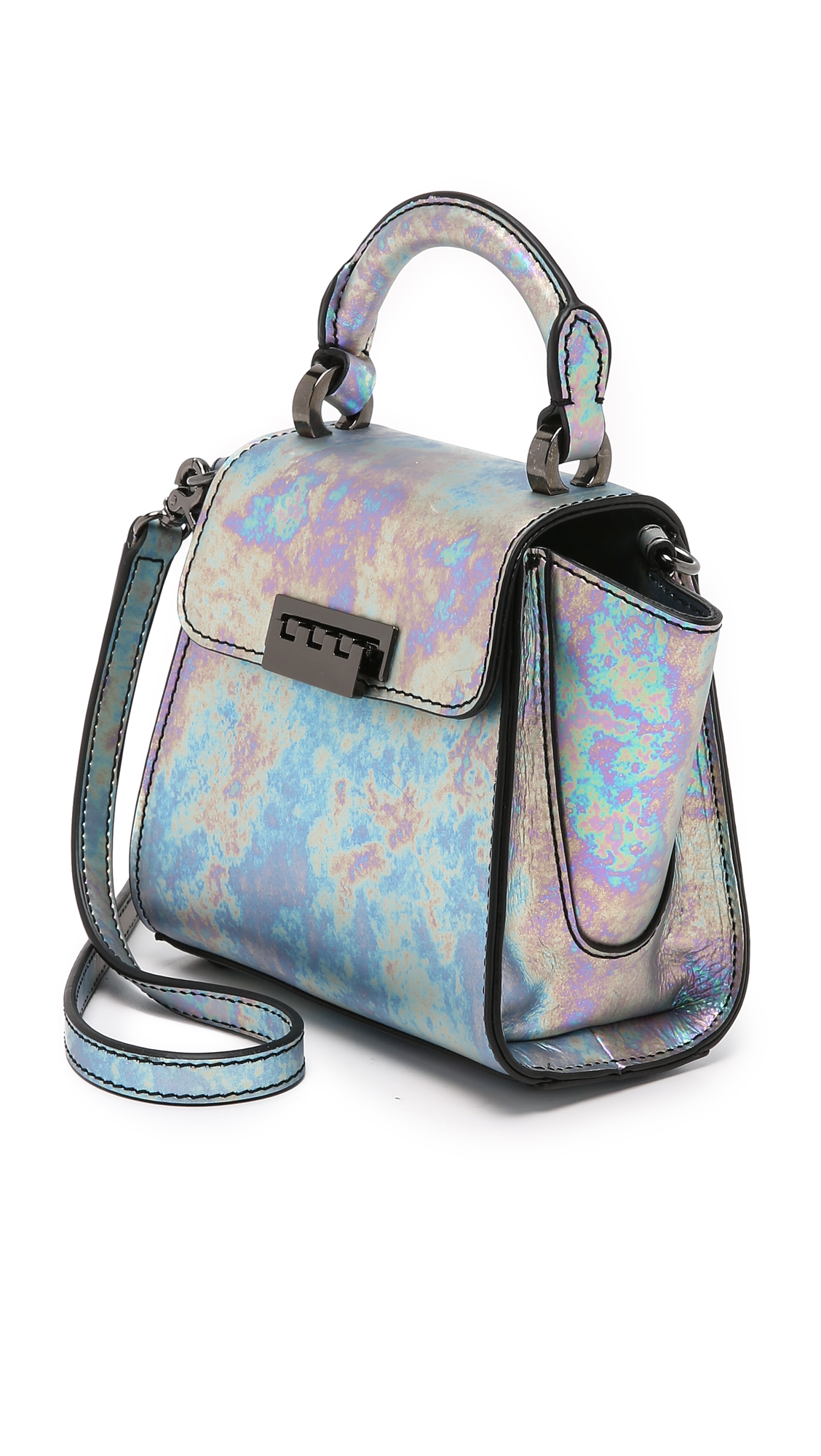 Lyst Zac Zac Posen Eartha Mini Top Handle Cross Body Bag