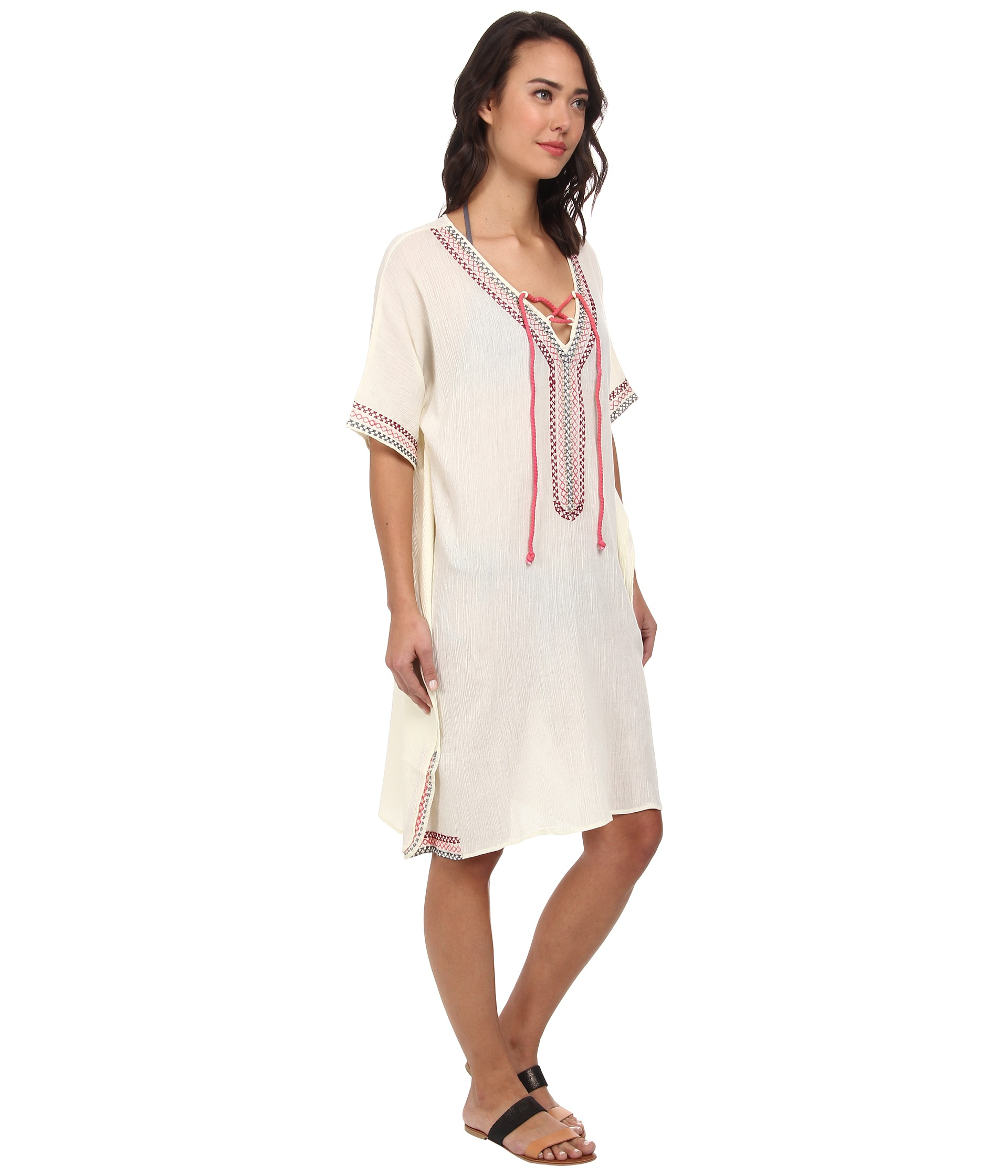 San Diego Hat Company Bst1390 Cotton Gauze Caftan With