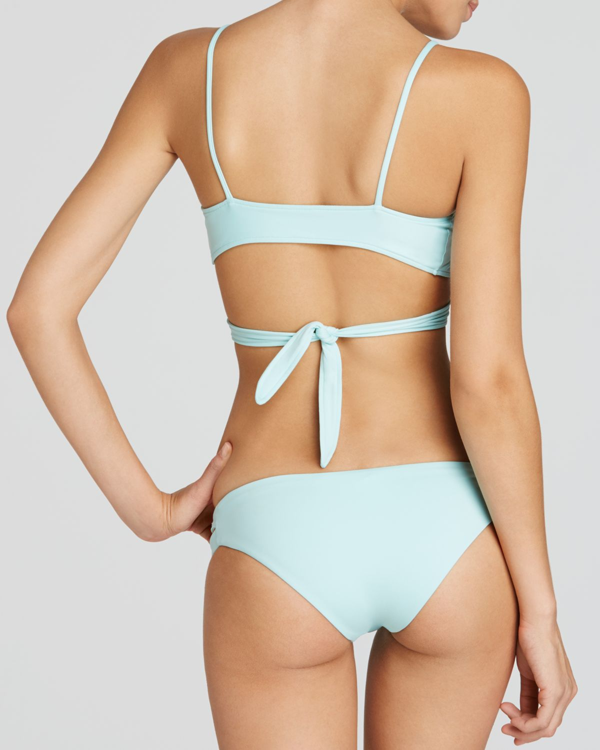 Lyst L Space L Space Estella Bikini Bottom In Blue