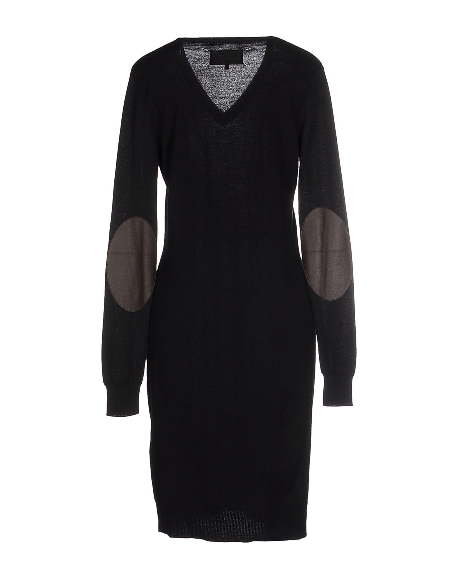 Lyst maison margiela short dress in black for A la maison lotion
