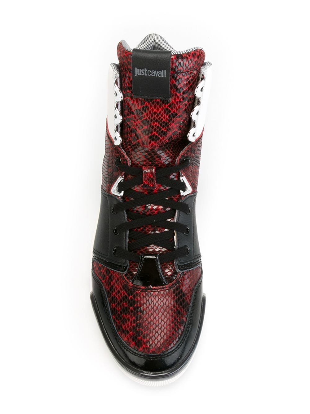 discount cost Just Cavalli panelled sneakers discount release dates free shipping marketable WBvTo04g1
