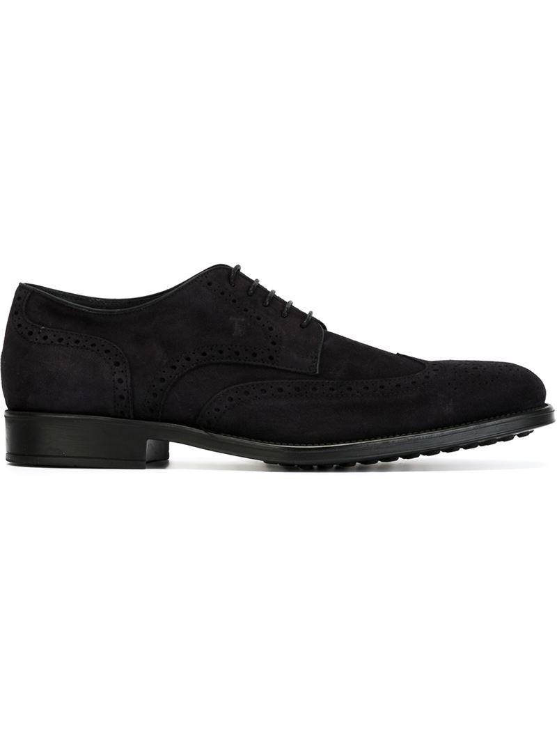 Aldo Navy Blue Oxford Shoes