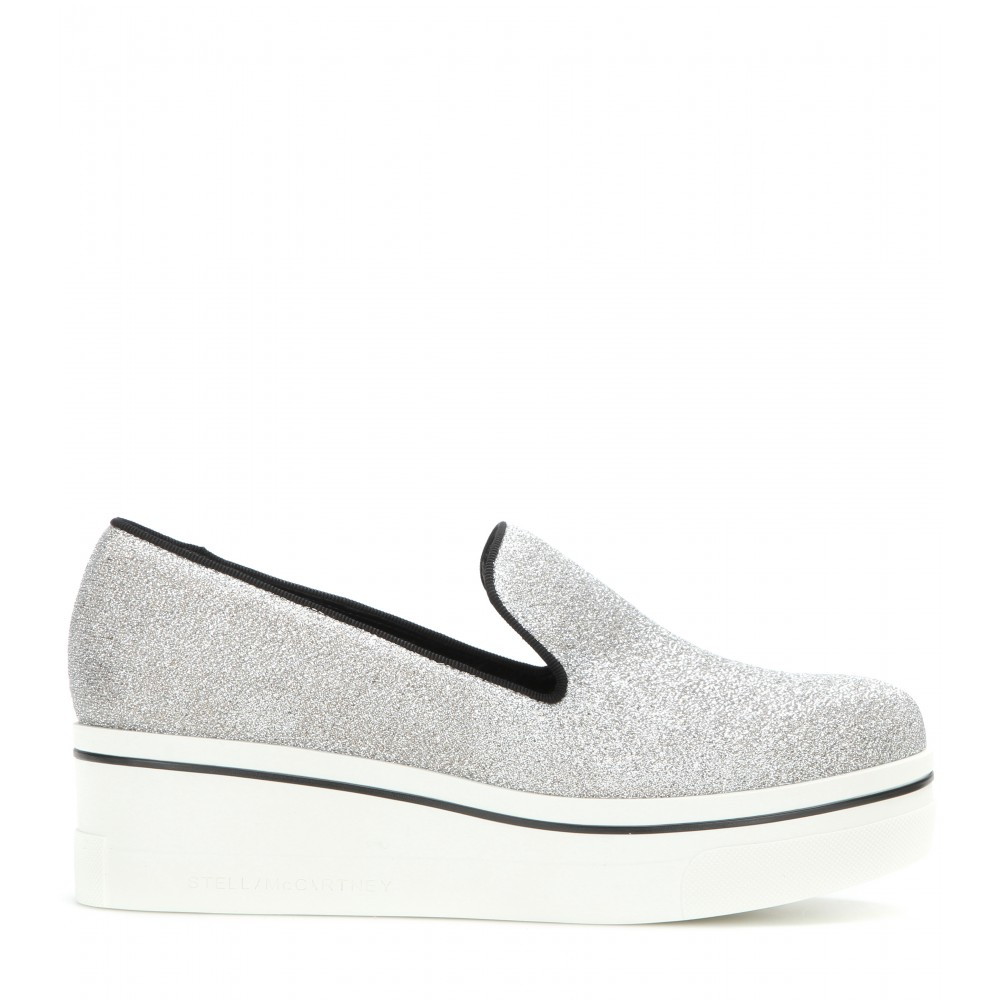 100% original for sale free shipping 100% authentic Stella McCartney Binx Platform Slip-On Sneakers discount footaction cheap shop MBbyL