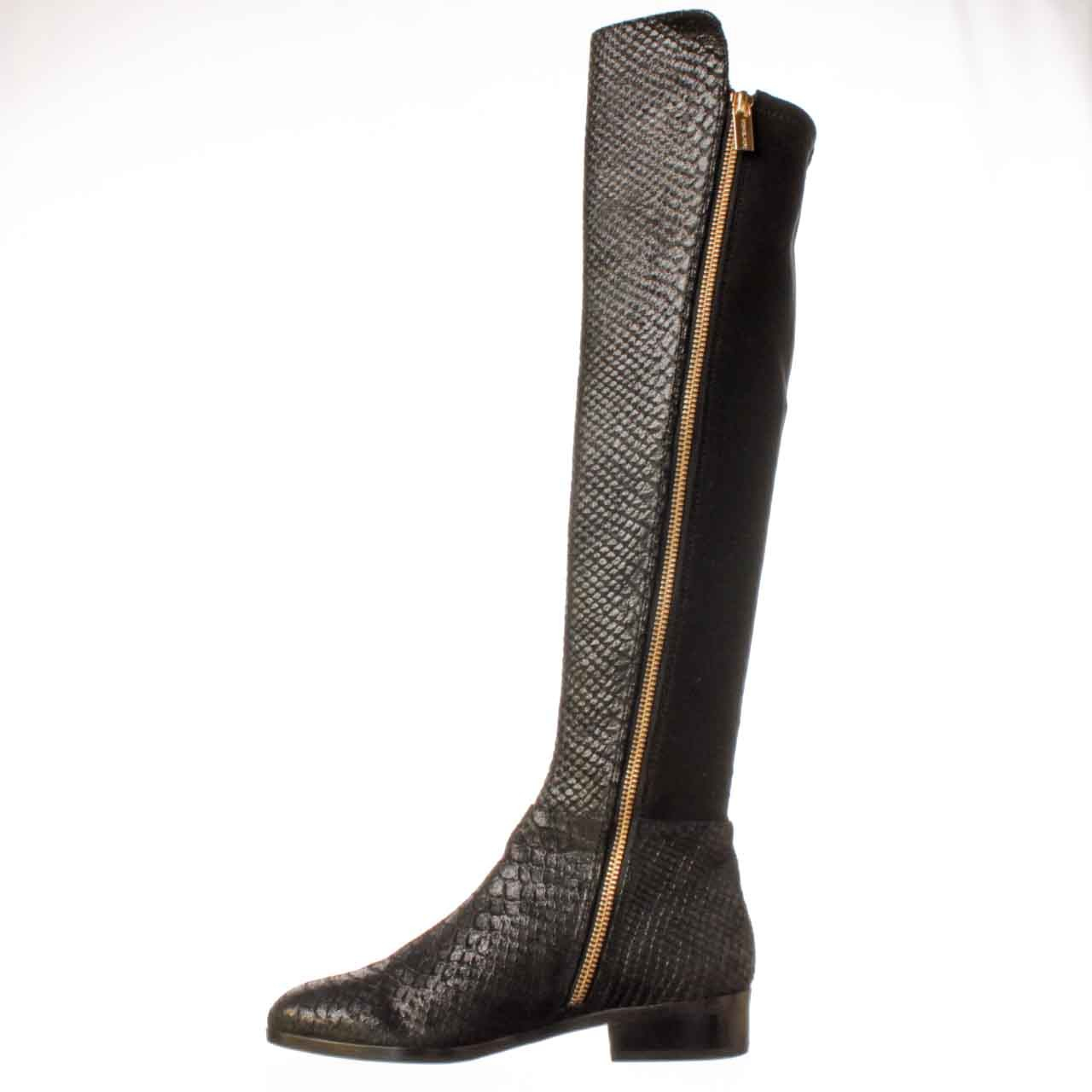 michael kors michael bromley tall boot riding boot in black lyst. Black Bedroom Furniture Sets. Home Design Ideas