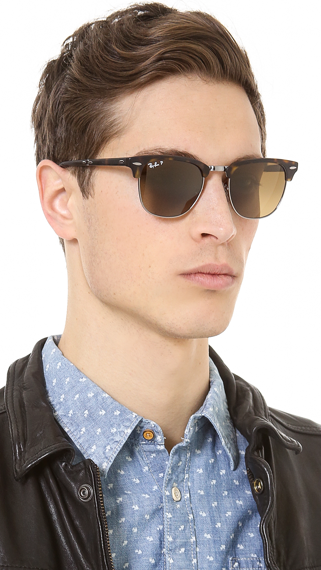 ba29642b9d4 ... sunglasses black gold frame with green lens 51mm 531d0 8cb06  coupon  code for gallery. previously sold at east dane mens ray ban clubmaster  9da8a 5a2e9
