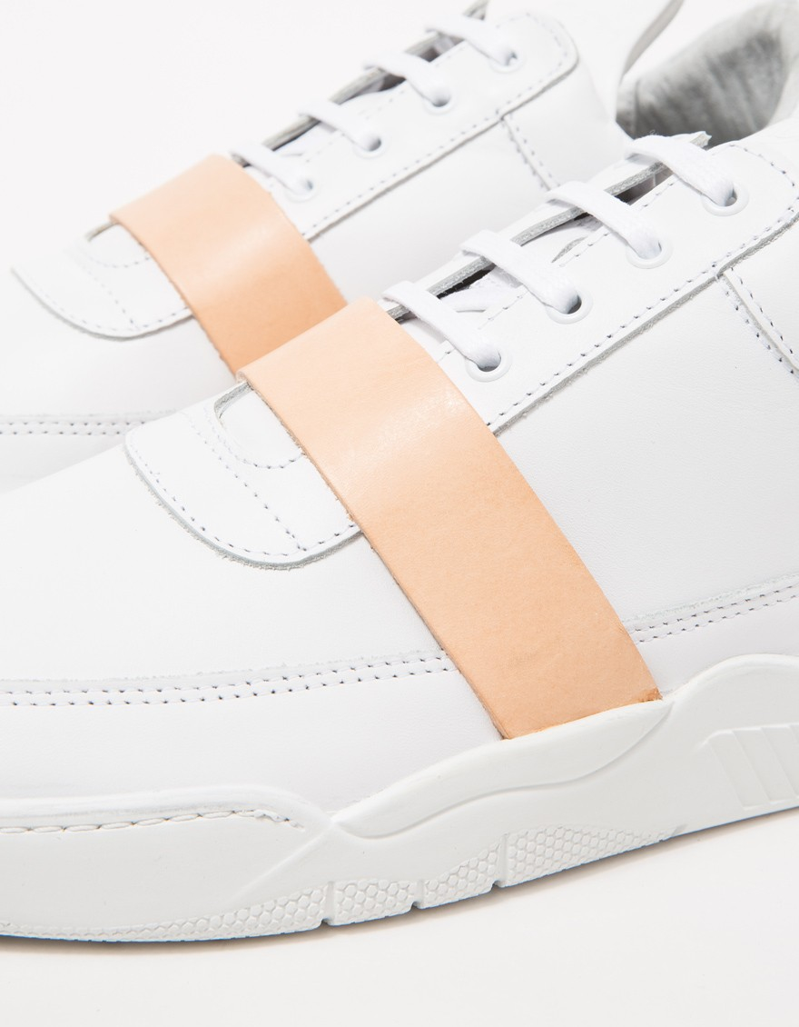 River Island Sneaker Low White Silver