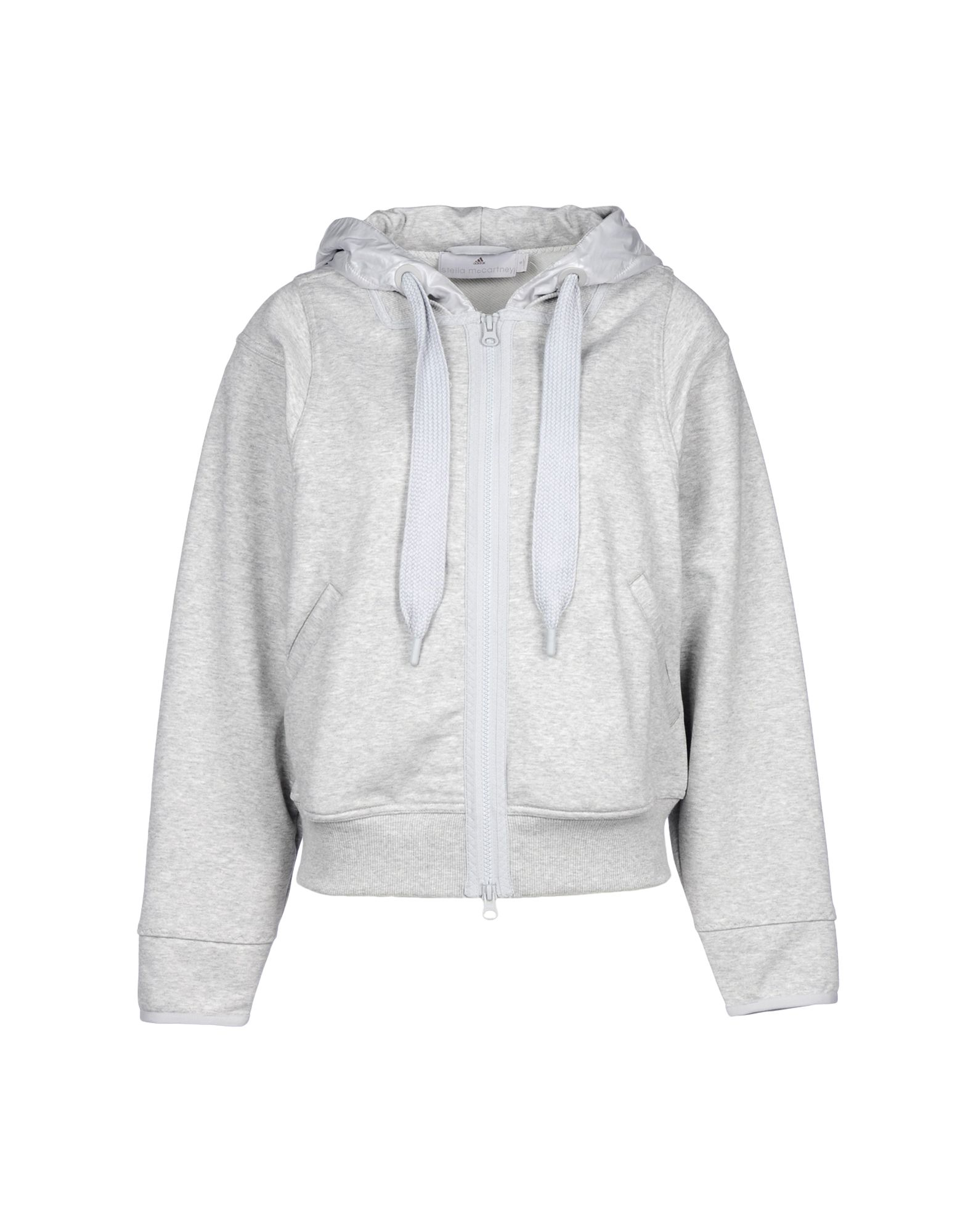 adidas by stella mccartney sweatshirt in gray lyst. Black Bedroom Furniture Sets. Home Design Ideas