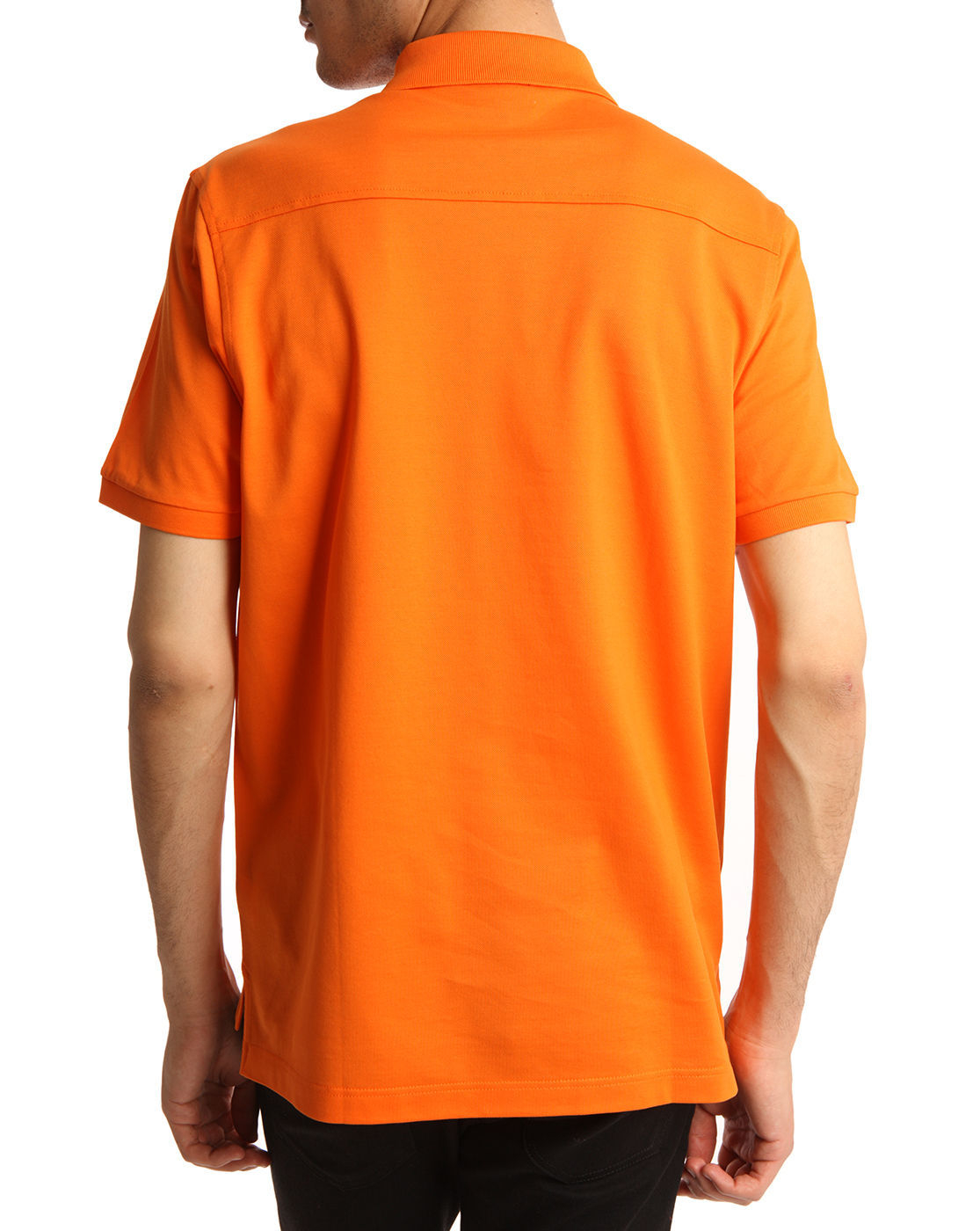 Dunhill Neon Orange Polo Shirt in Orange for Men | Lyst