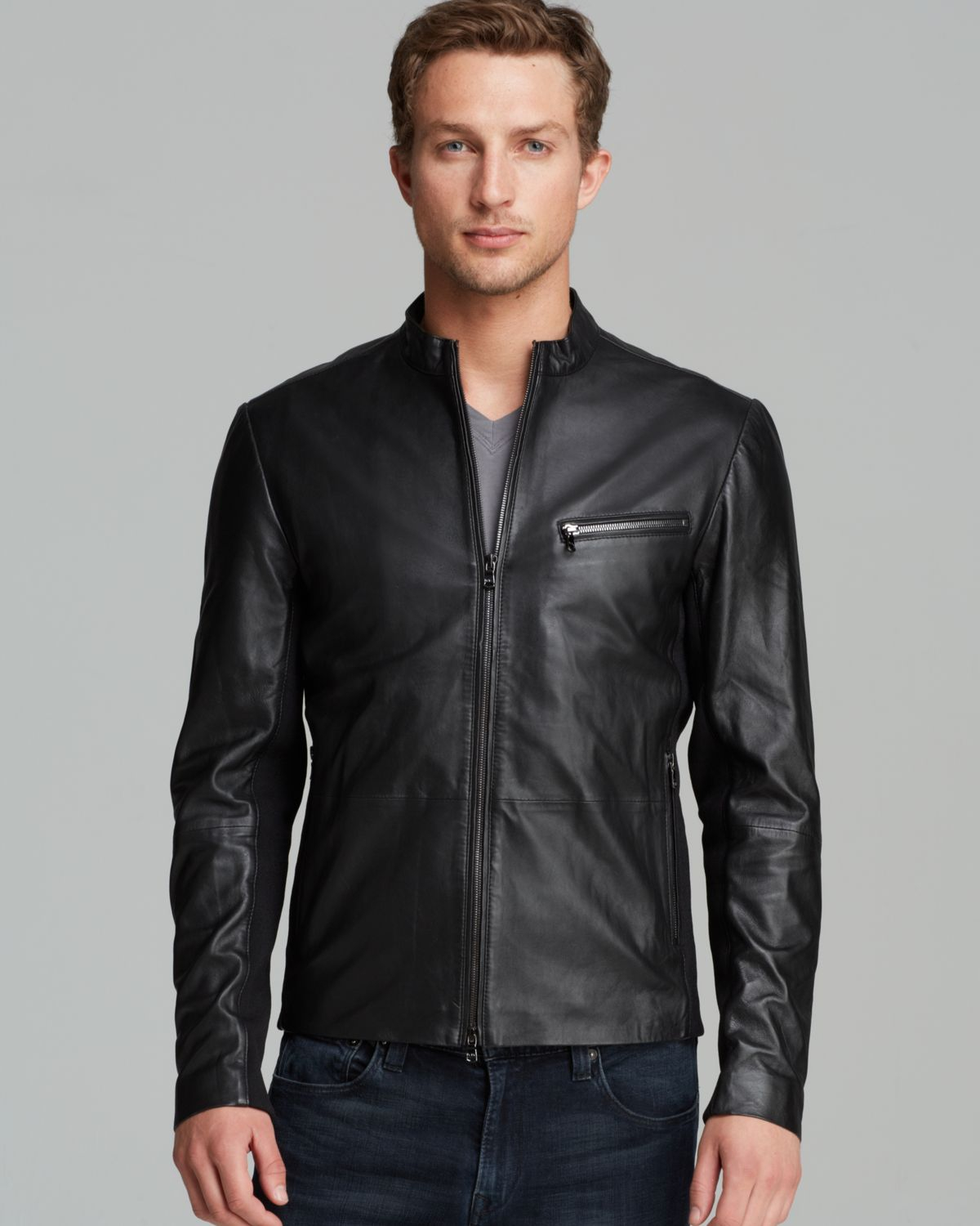 Michael kors leather jacket for sale