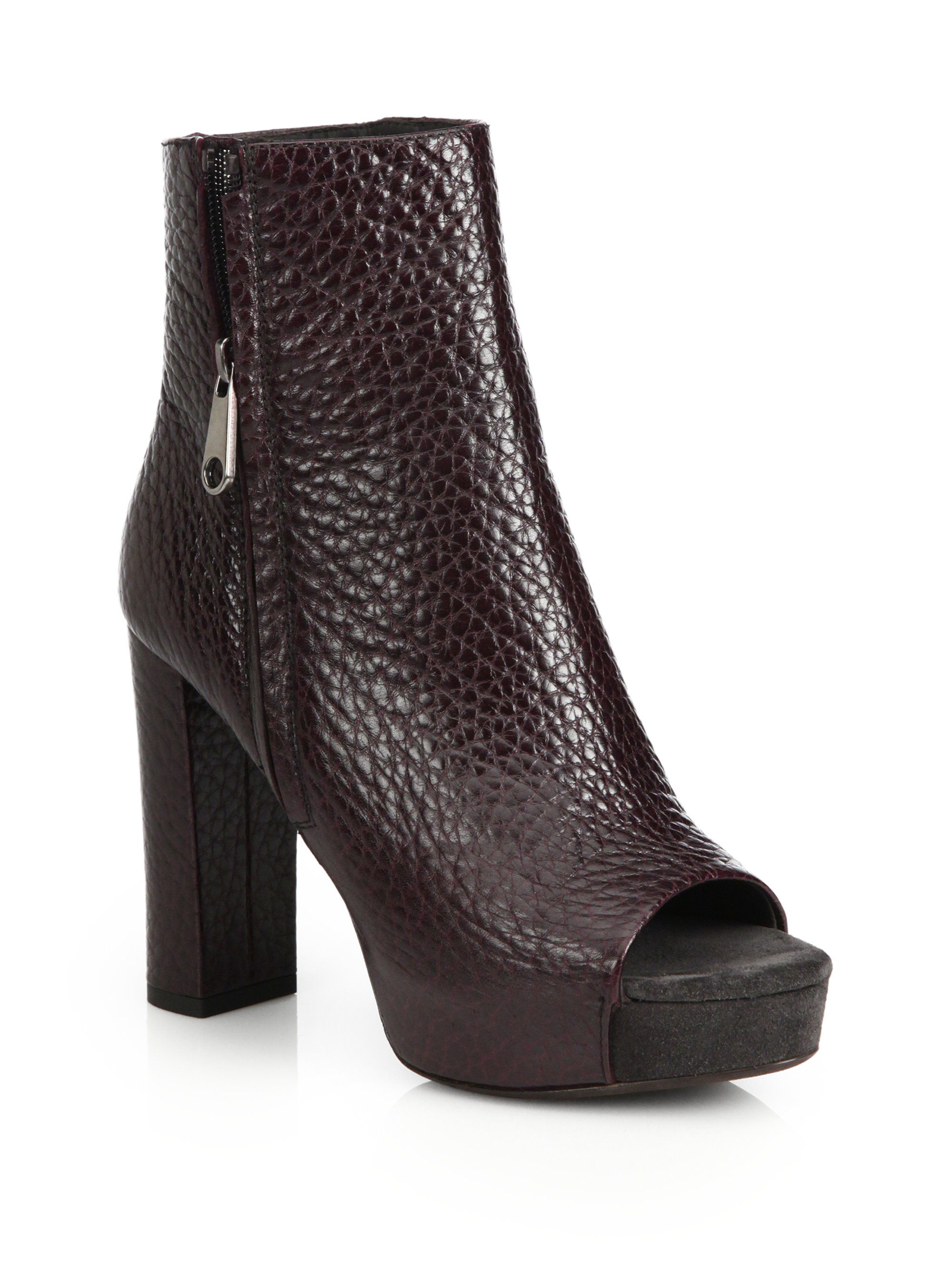 Brunello Cucinelli Monili-Embellished Peep-Toe Bootie discount shopping online nicekicks cheap online free shipping with mastercard authentic Nk0oB48DW