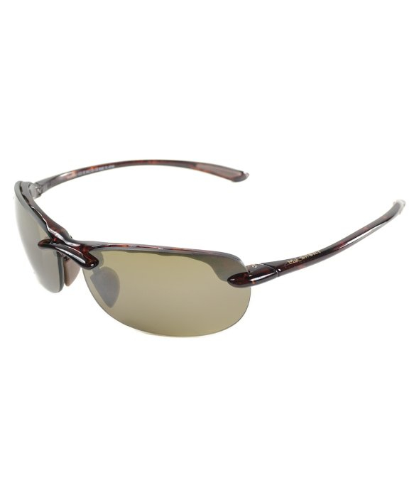 Rimless Glasses Nylon : Maui jim Hanalei Maui H413 10 Tortoise Nylon Rimless ...