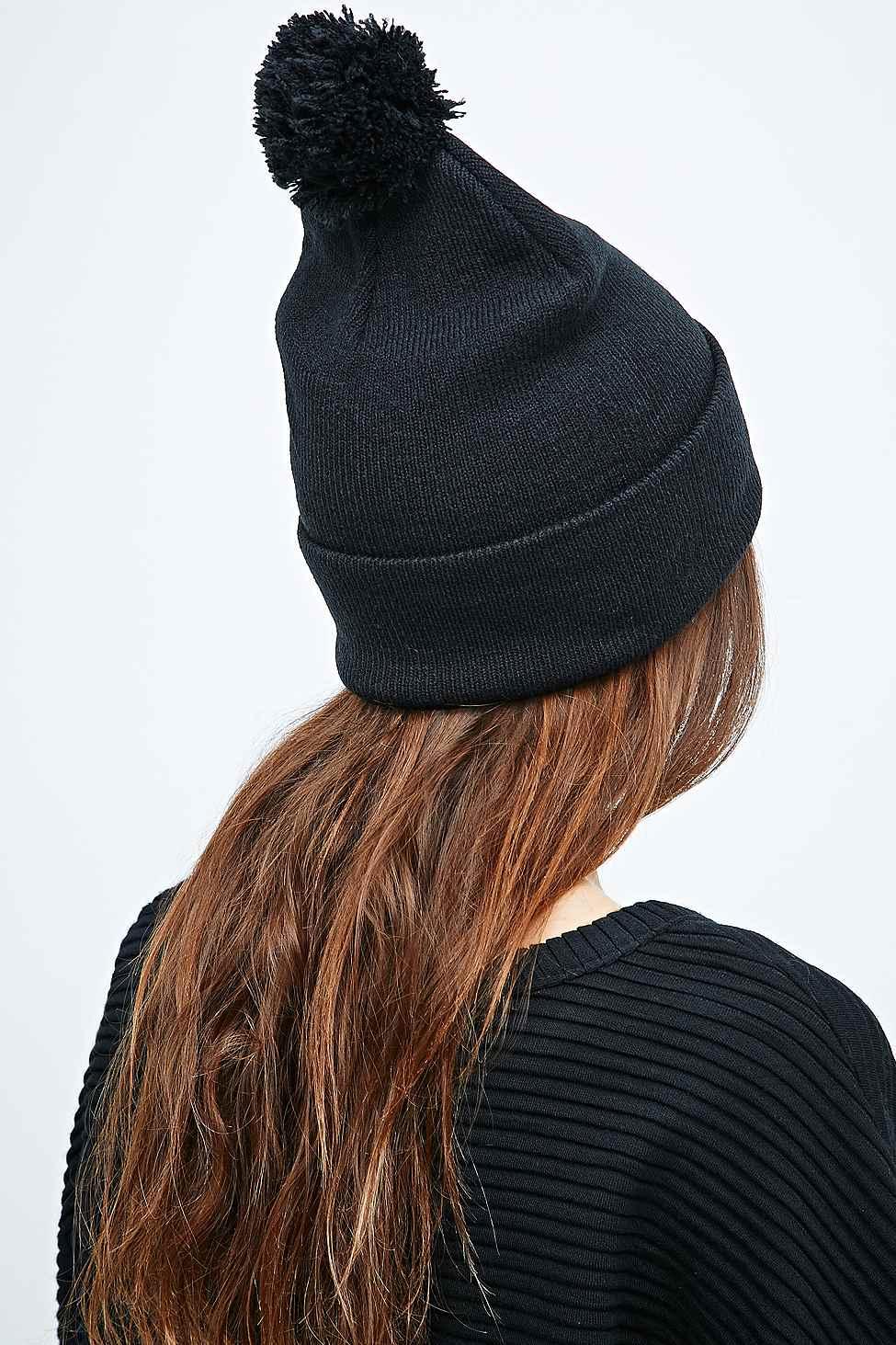 Carhartt Bobble Watch Hat Beanie In Black in Black - Lyst cecfbbd9f863
