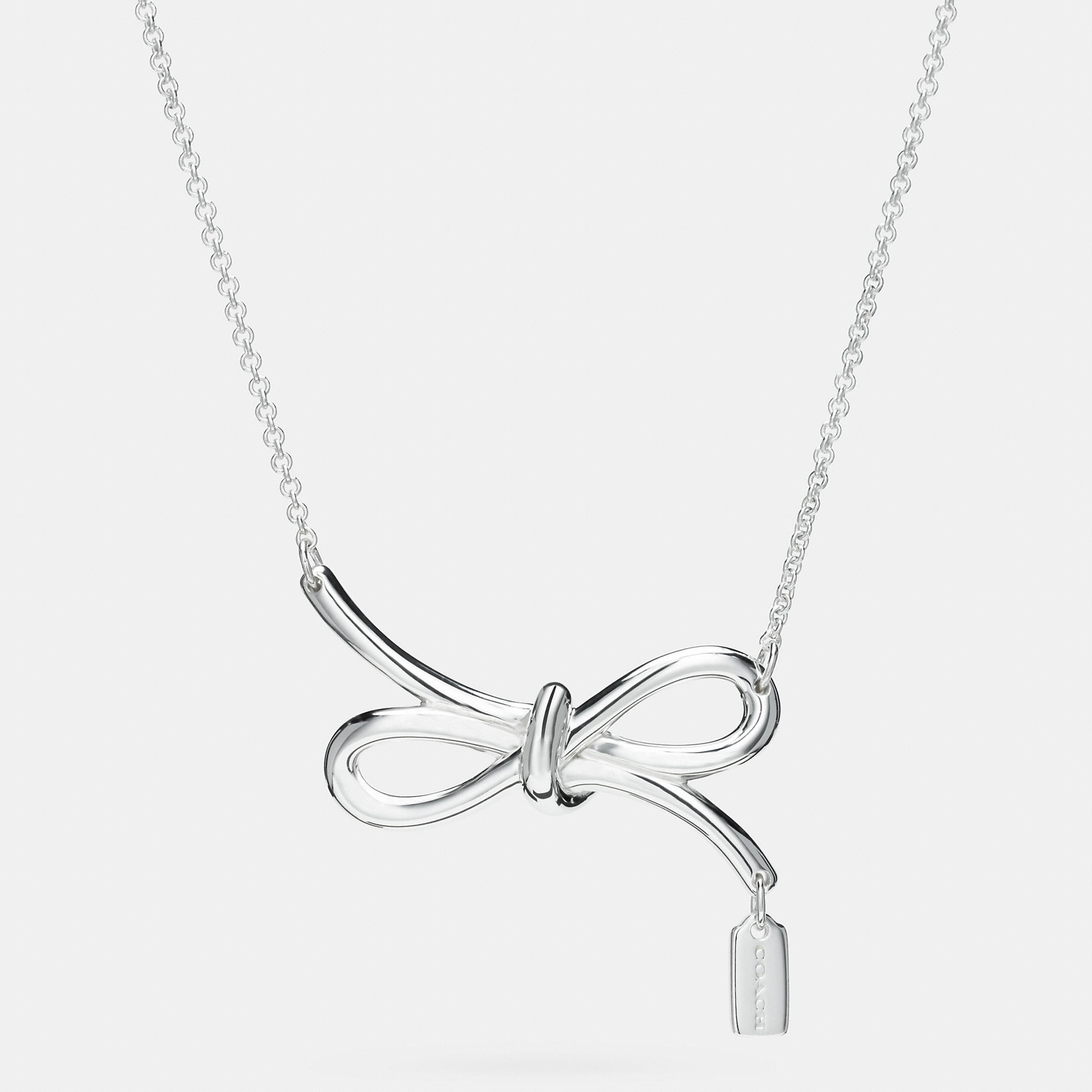 original ribbon luulla necklace on product gold bow