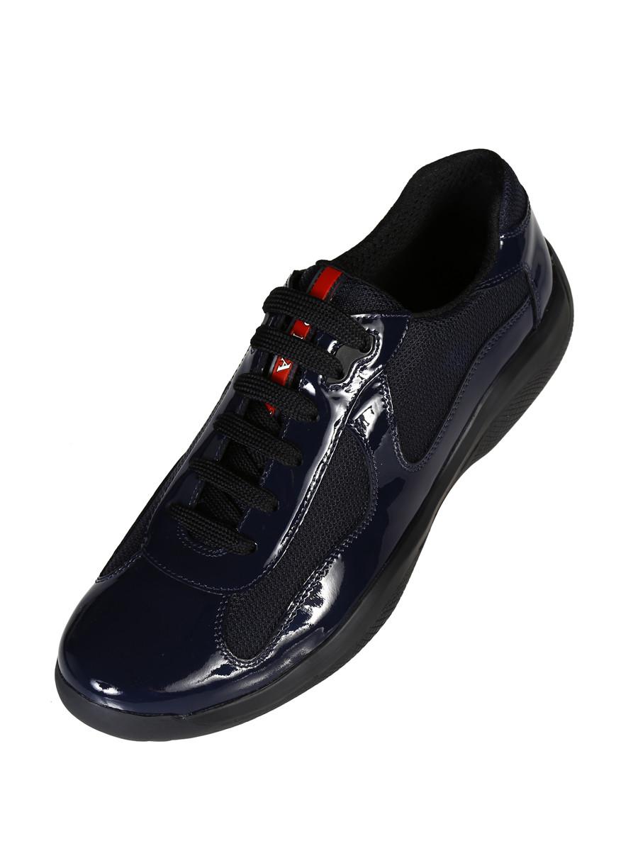 Prada linea rossa 4e2043 055 Sneakers in Black for Men (Oltremare) | Lyst