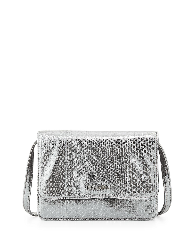 prada silver bag
