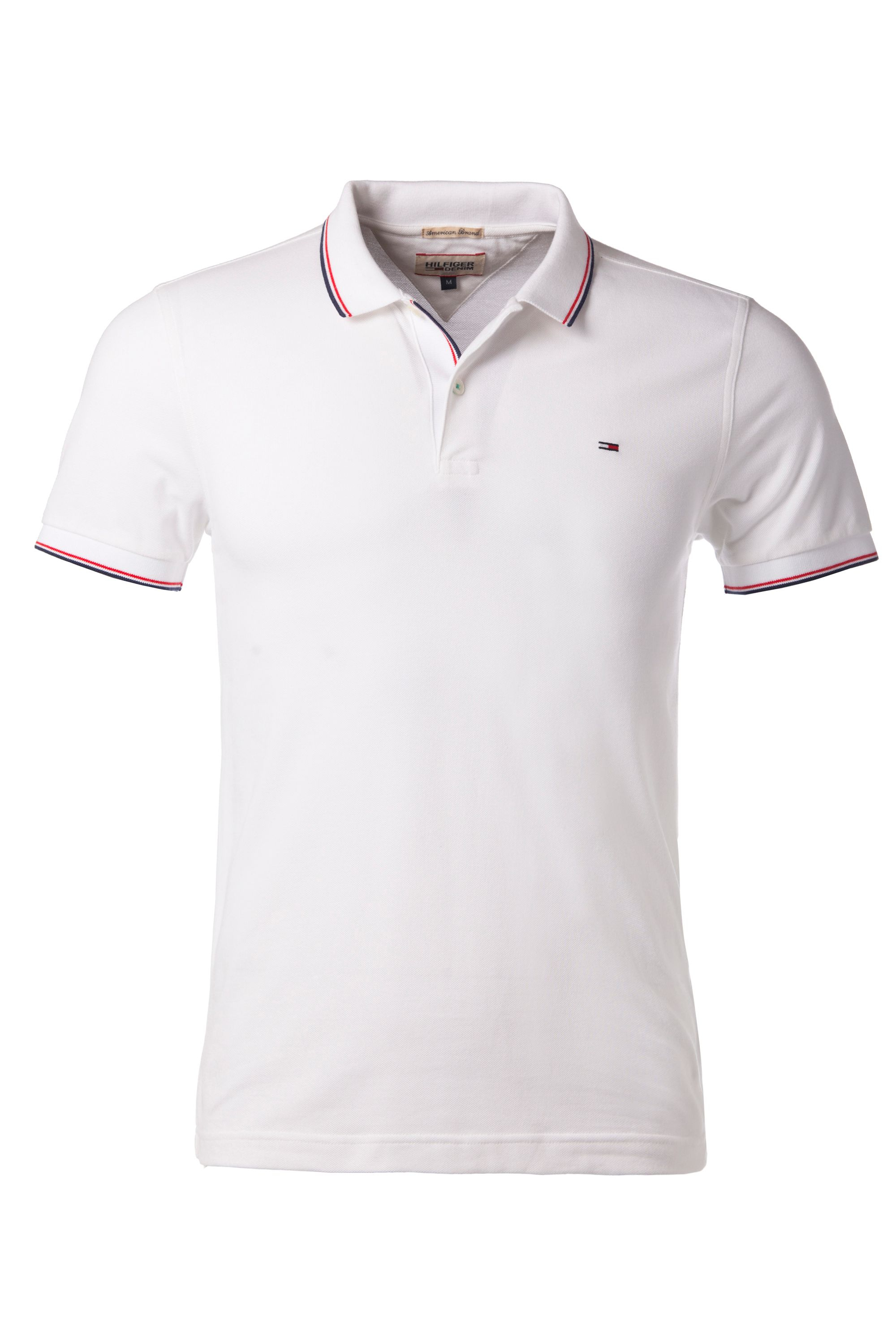 lyst tommy hilfiger paddy plain slim fit polo shirt in