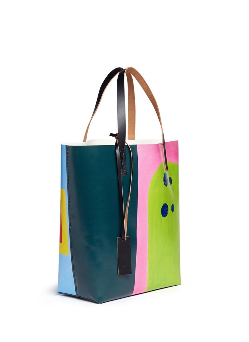 Marni X Jack Davidson Shopping Bag Pvc Tote Lyst