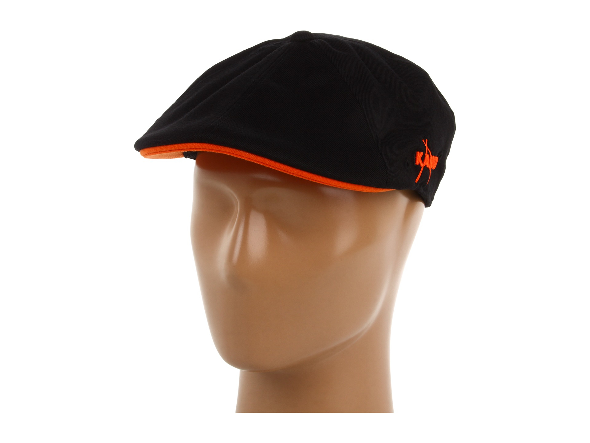 Lyst - Kangol Championship 504 Cap in Black for Men e5d9ac04657