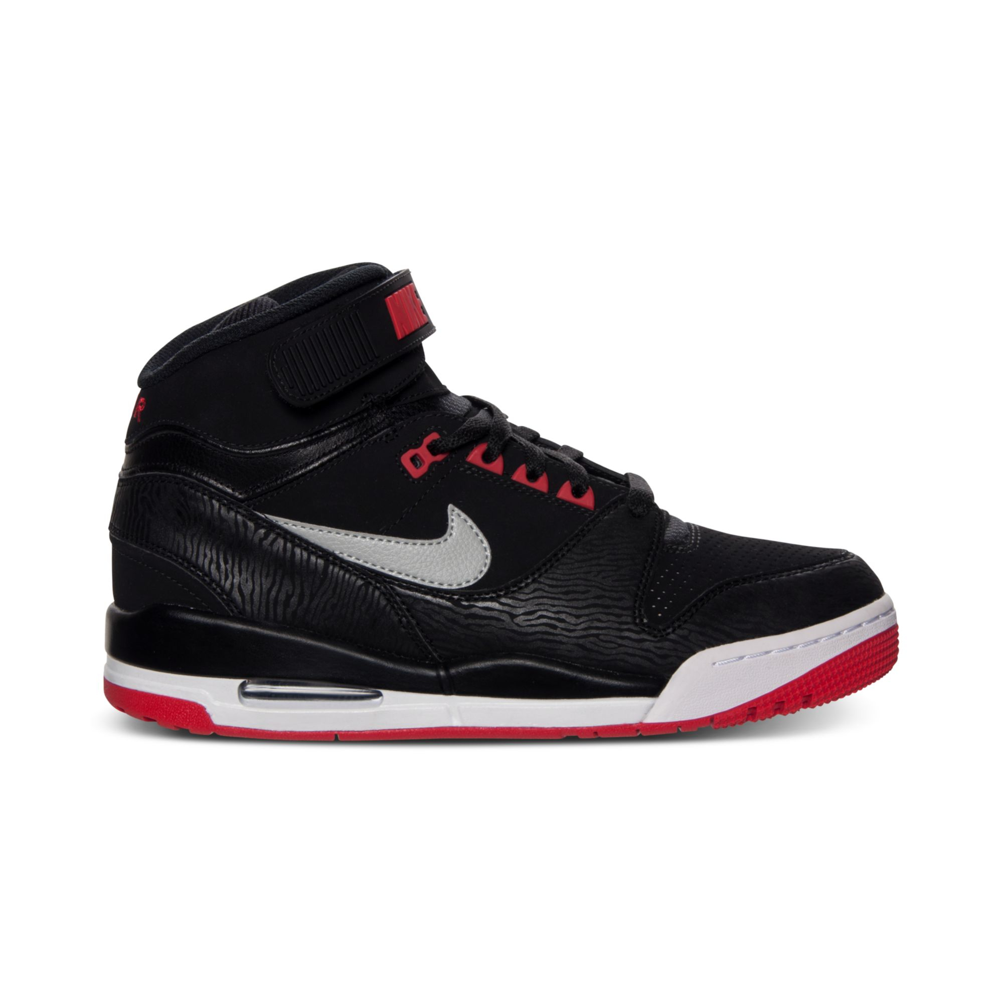 Nike Air Revolution Basketball Sneakers in Black for Men ...