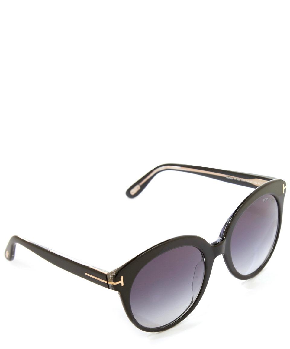 lyst tom ford black monica sunglasses in black. Black Bedroom Furniture Sets. Home Design Ideas