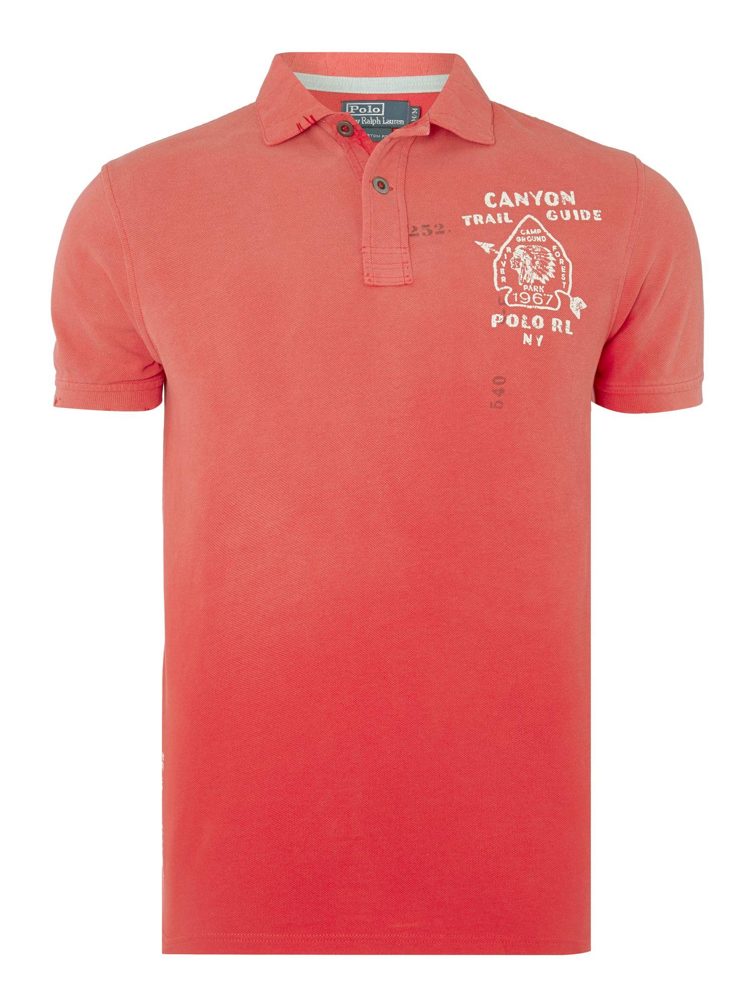 Polo ralph lauren ralph lauren custom fit polo shirt in for Custom tailored polo shirts