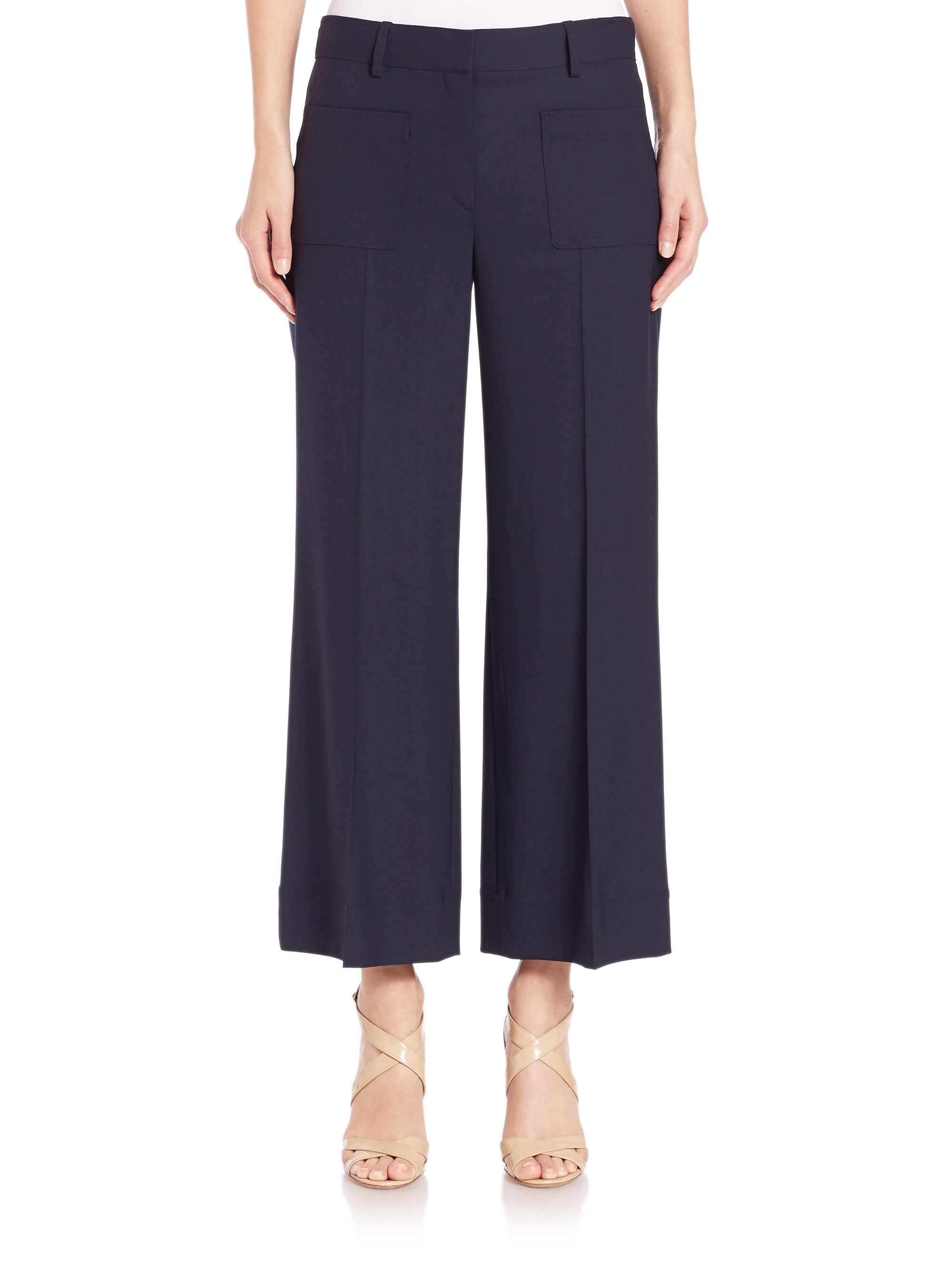 Cropped Pants Dare to bare this season with the Farfetch edit of cropped trousers. Whether you are looking for Capri pants, pedal pushers or clam-diggers – you'll find an .