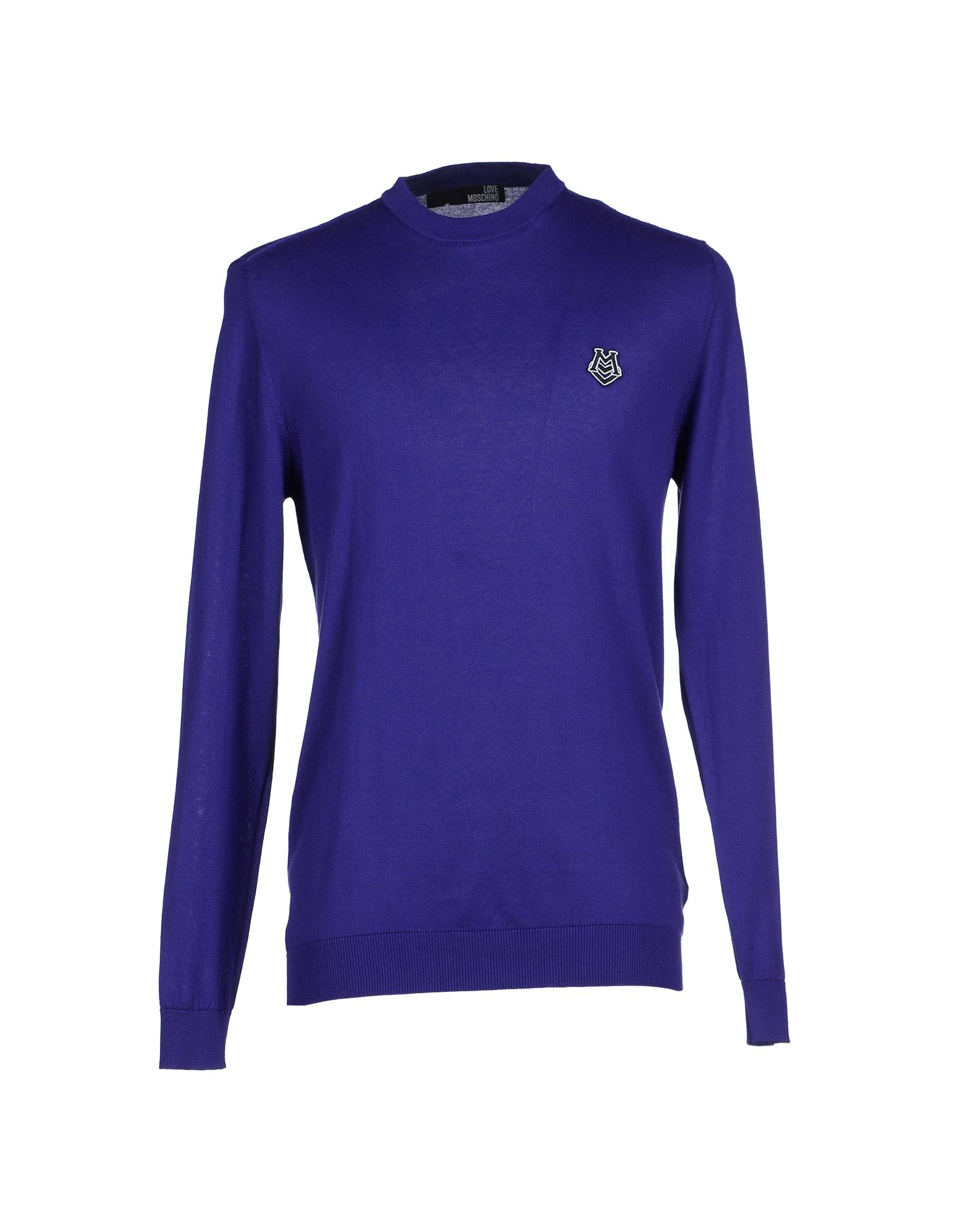 love moschino sweater in purple for men lyst. Black Bedroom Furniture Sets. Home Design Ideas