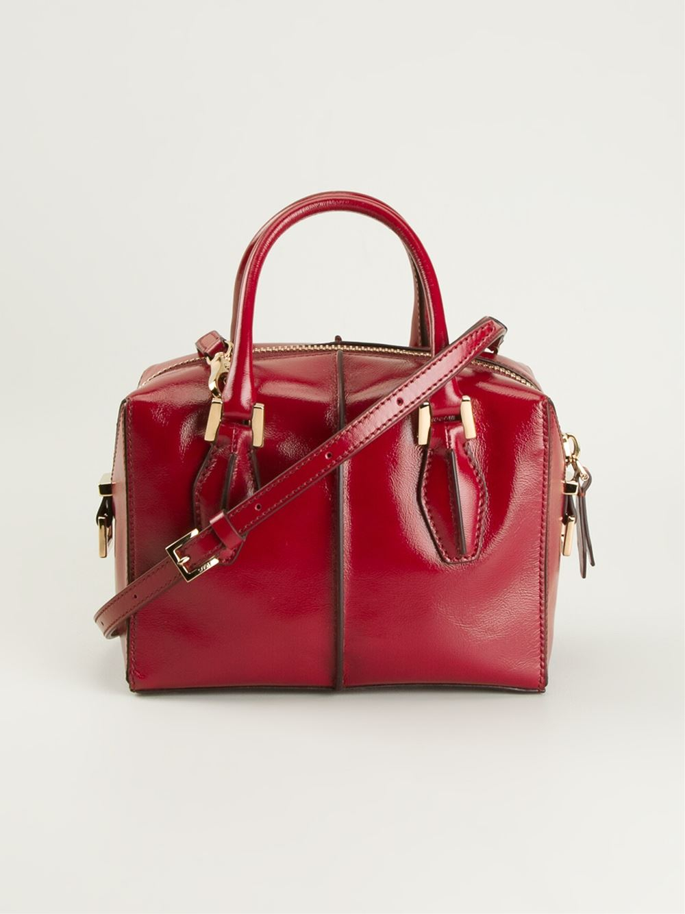 Tod's Dcube Cross Body in Red
