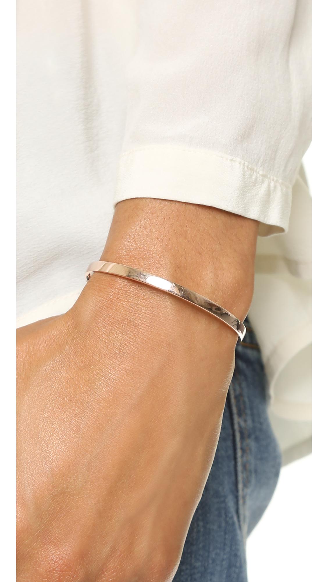Fiji Friendship Bracelet, Gold Vermeil on Silver Monica Vinader