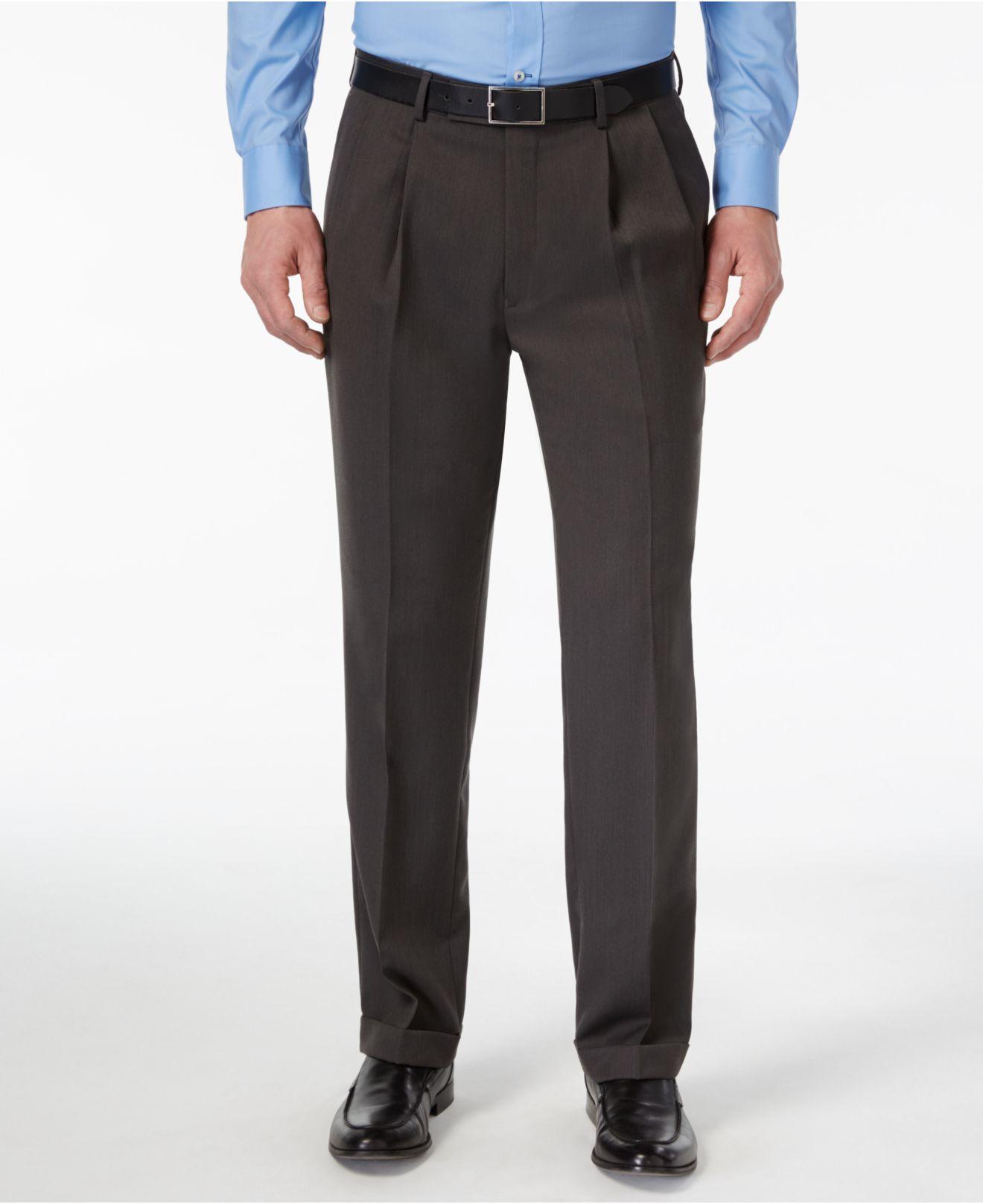 Charcoal Dress Pants Shoes