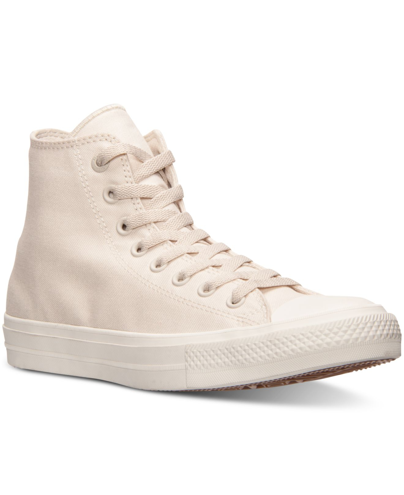 converse chuck taylor all star ii ox canvas shoe - parchment