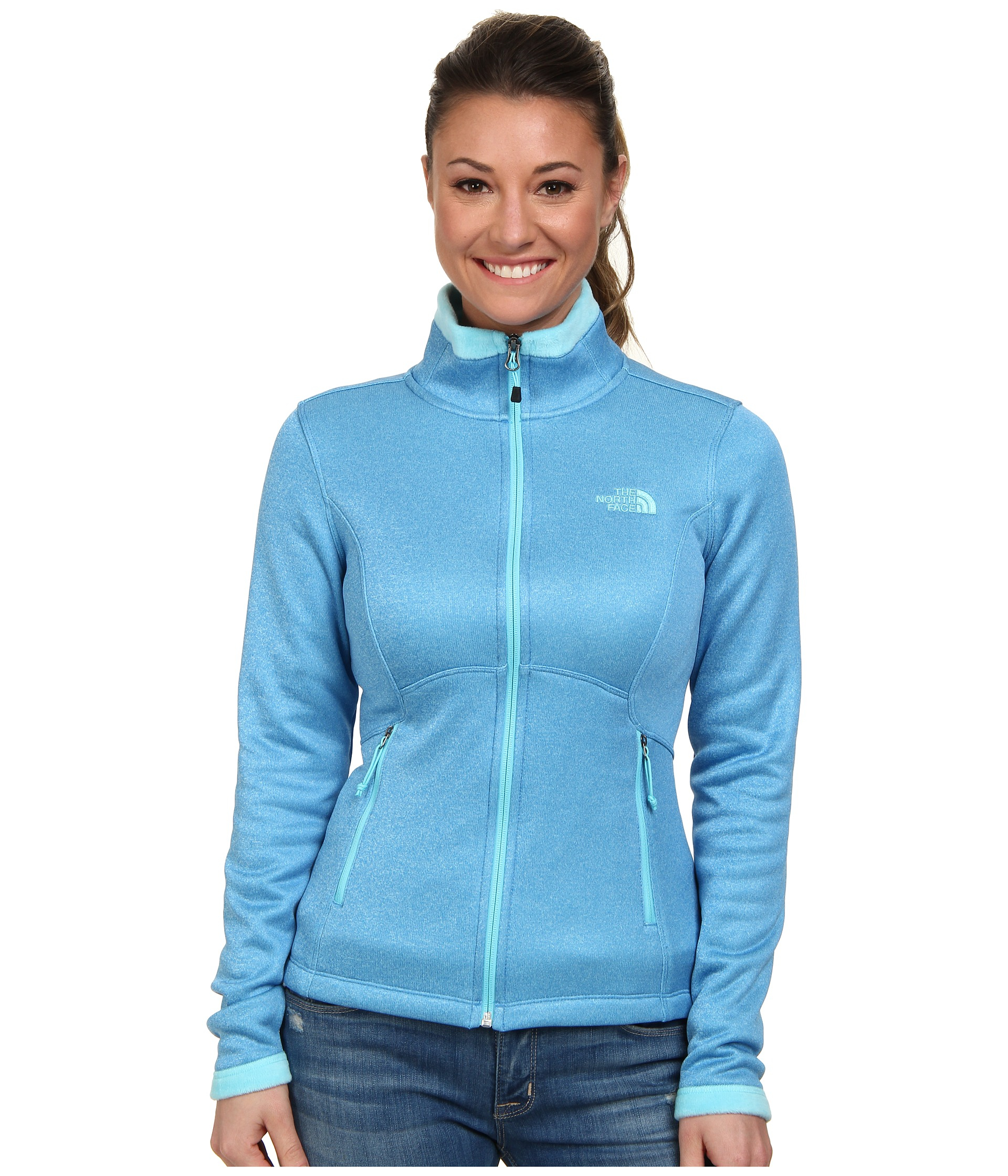 560a5cd40 The North Face Blue Agave Jacket
