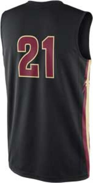 Nike Men S Florida State Seminoles Replica Basketball Jersey In Black For Men Lyst