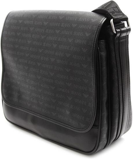 Armani Jeans Pvc Shoulder Bag 116