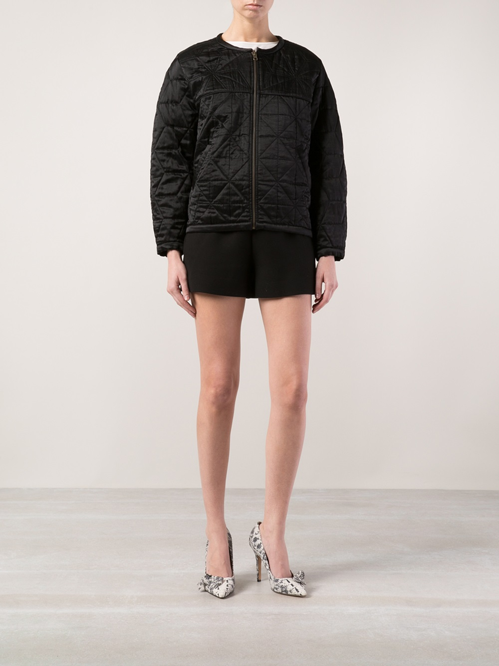 201 Toile Isabel Marant Reversible Jacket In Black Lyst