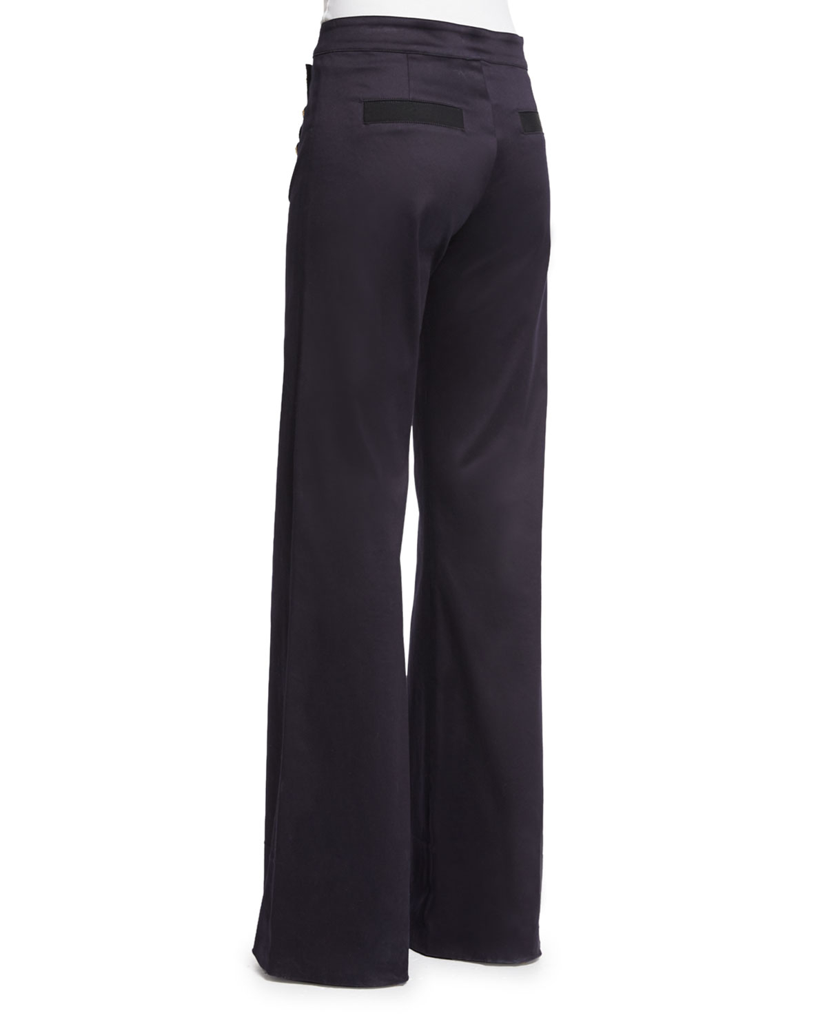 Veronica beard Wide-leg Sailor Pants in Blue | Lyst