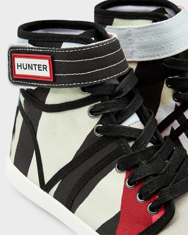 HUNTER Women's Original Dazzle Hi-top Sneakers