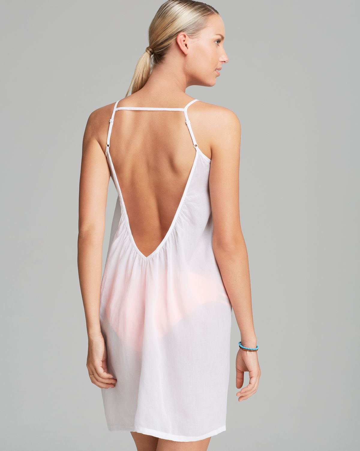 Lyst Pilyq Biscayne Swim Cover Up Dress In White