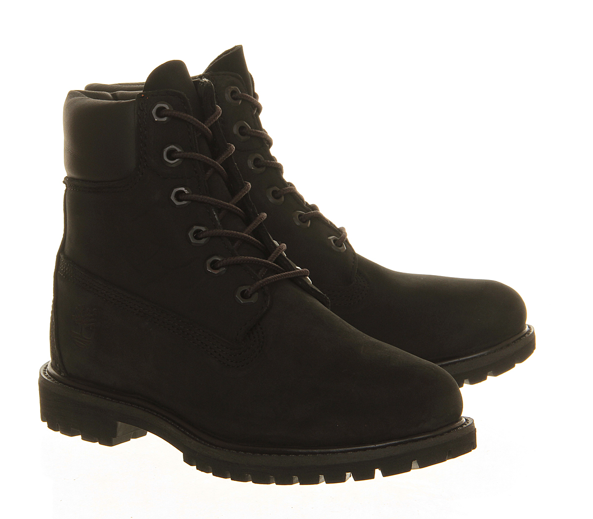 Simple Buy Timberland Womens Black Glancy 6 Inch Boots At Hurleys
