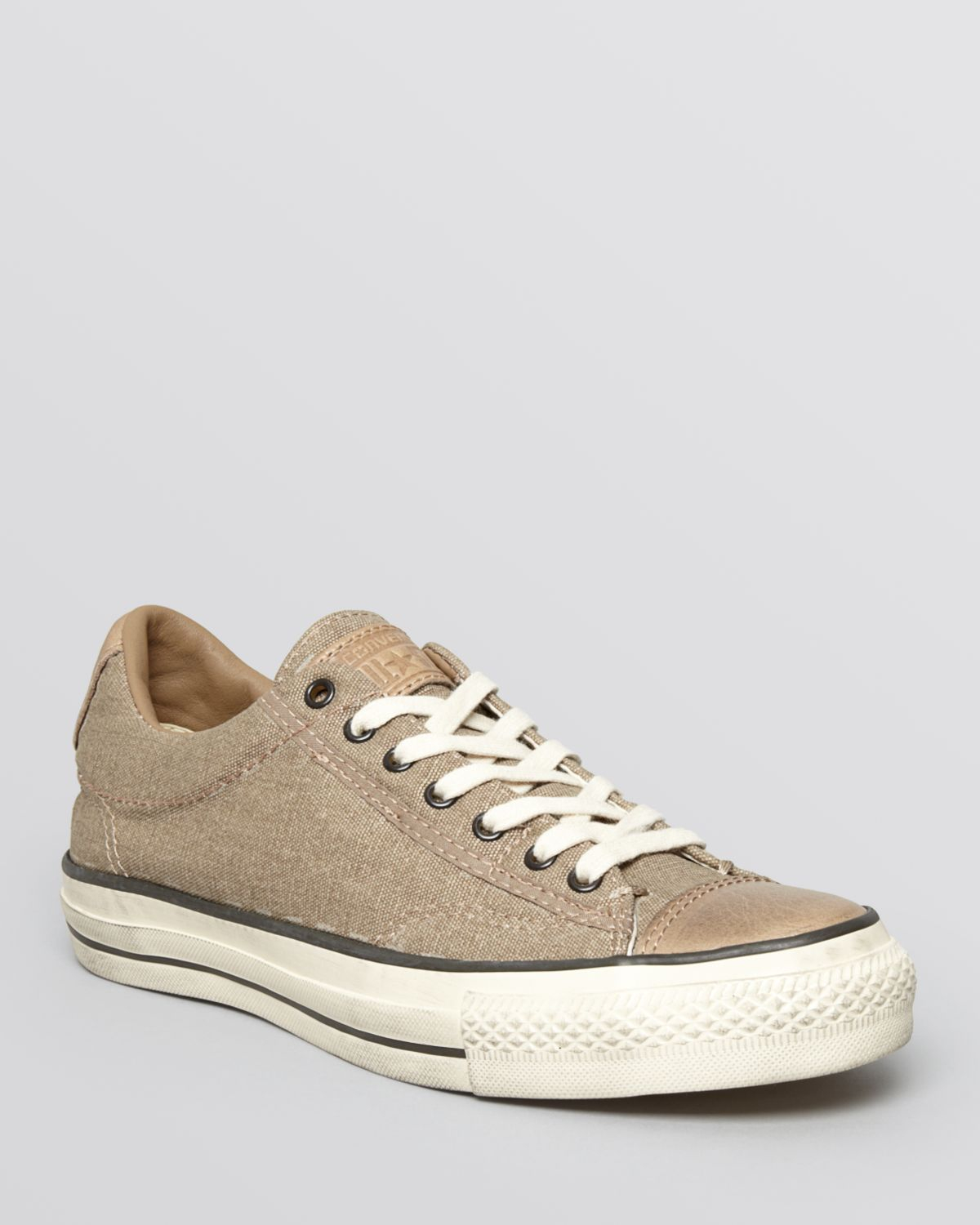 d70540e74f8b Lyst - Converse Jv All Star Pigment-dyed Low Top Sneakers in Brown ...