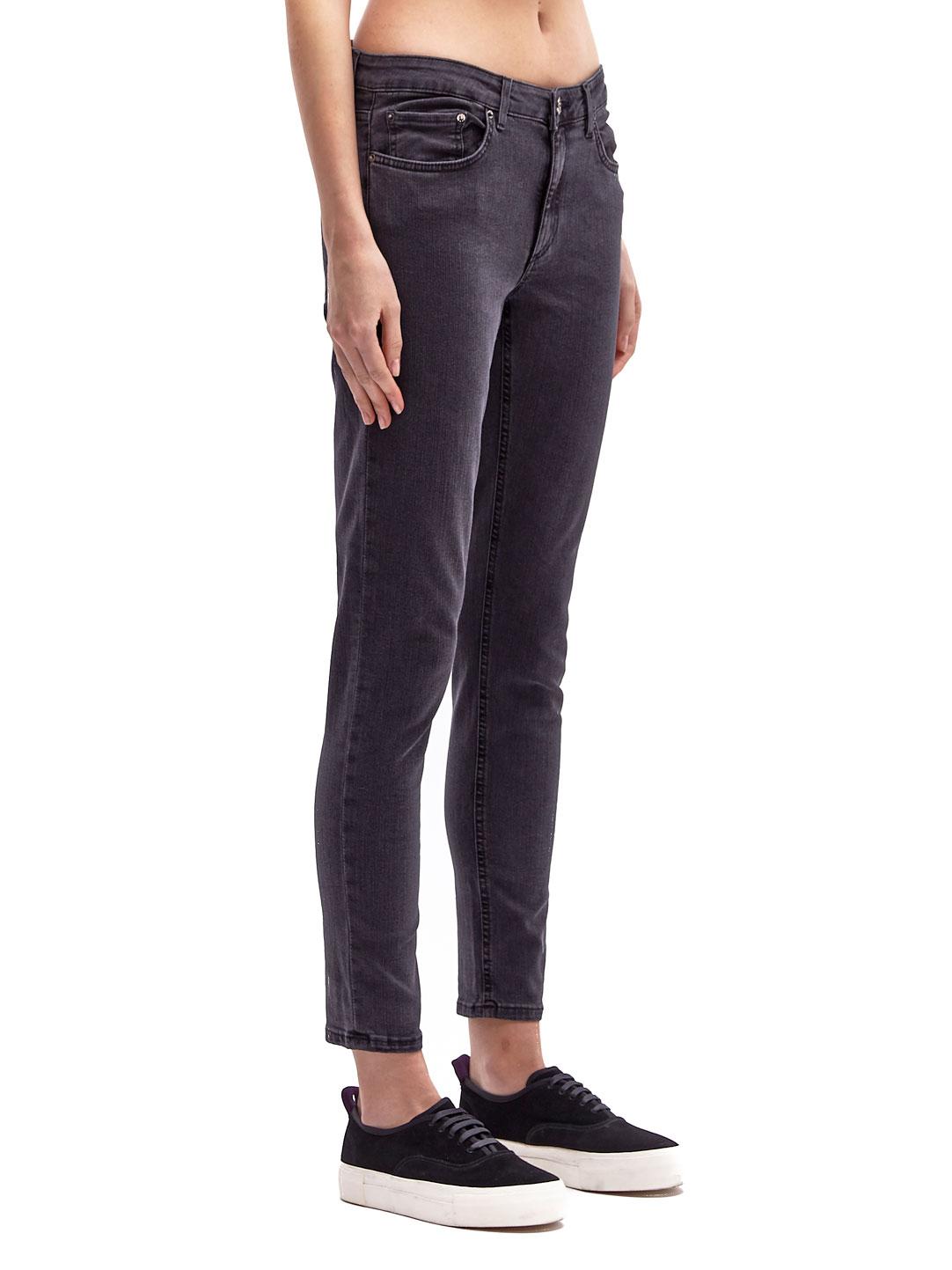 Lyst Acne Studios Skin  Used Jeans In Black
