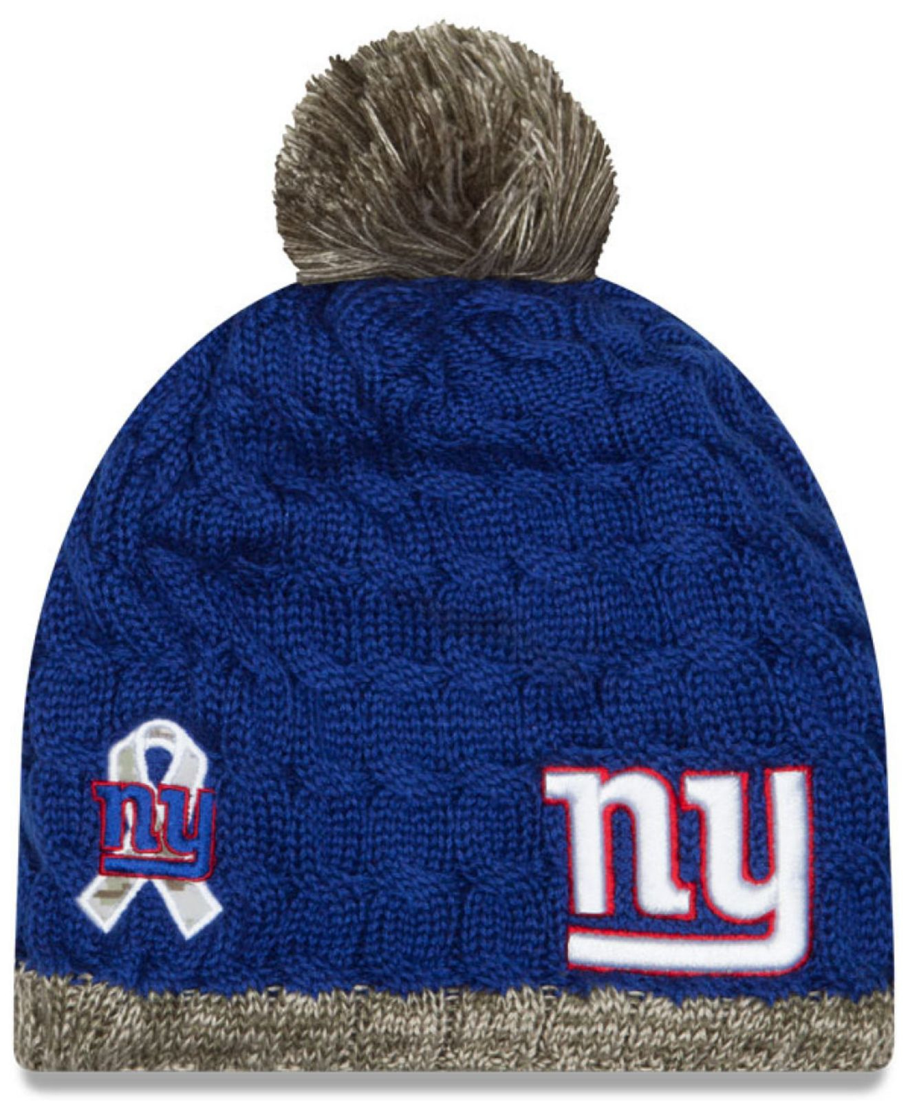 Lyst - KTZ Women s New York Giants Salute To Service Knit Hat for Men b3c7cfa557