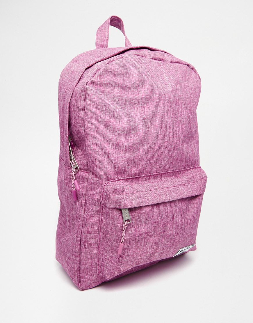 e3389a9e6a Herschel Supply Co. Classic Backpack In Pink Crosshatch in Pink - Lyst