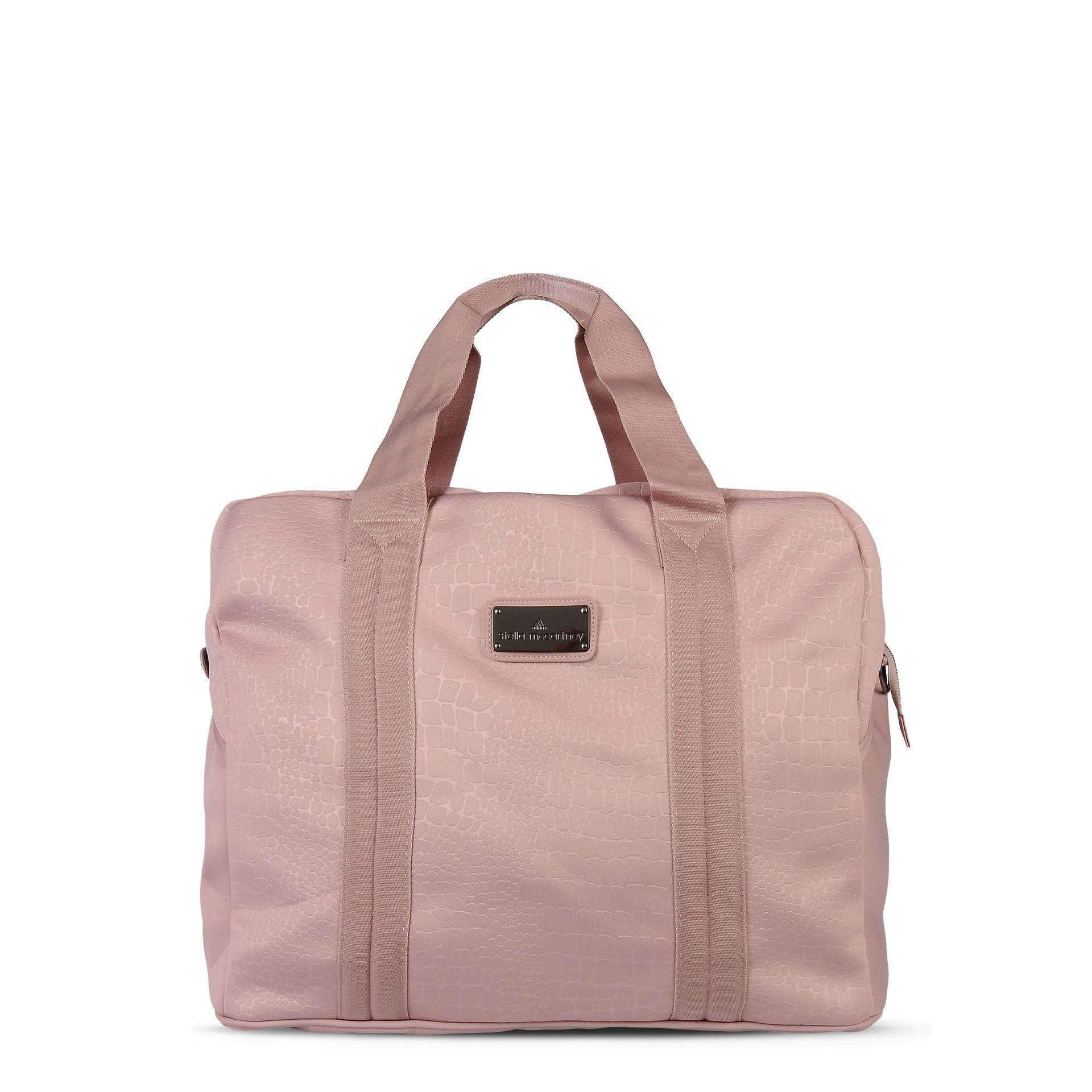 Lyst - adidas By Stella McCartney Pink Essentials Sports Bag in Pink cf1415c745