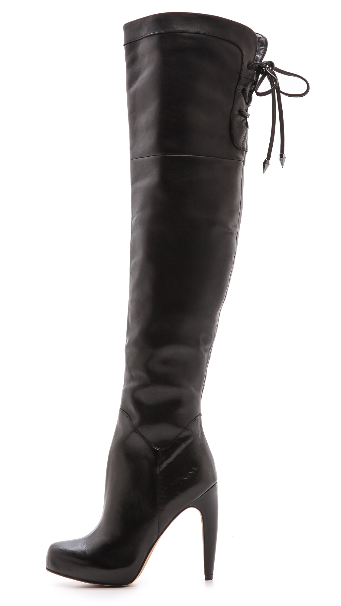 fantastic savings clearance prices brand new Sam Edelman Kayla Over The Knee Boots - Black - Lyst