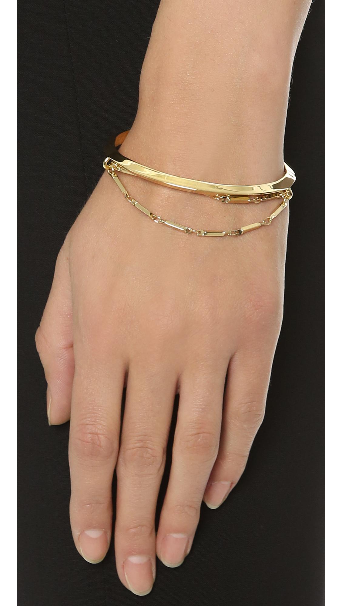 Eddie Borgo Pavé Frond Cuff Bracelet w7zlA7