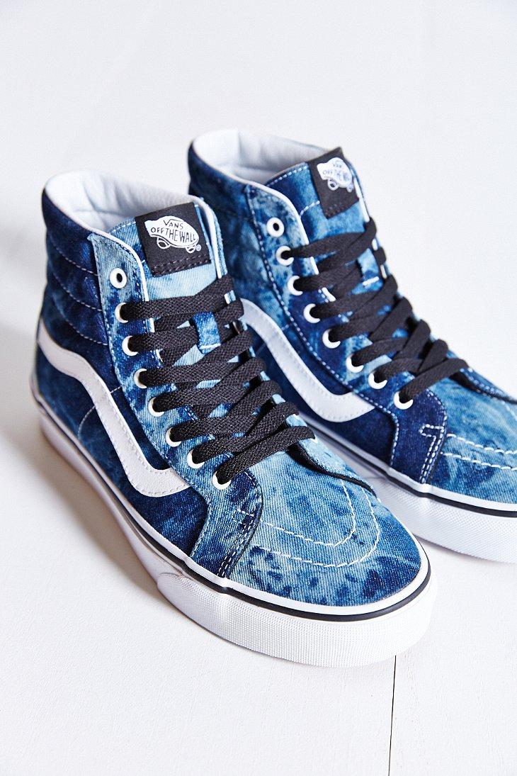 zasznurować wiele modnych sprzedaż online Sk8-Hi Denim Reissue Sneaker