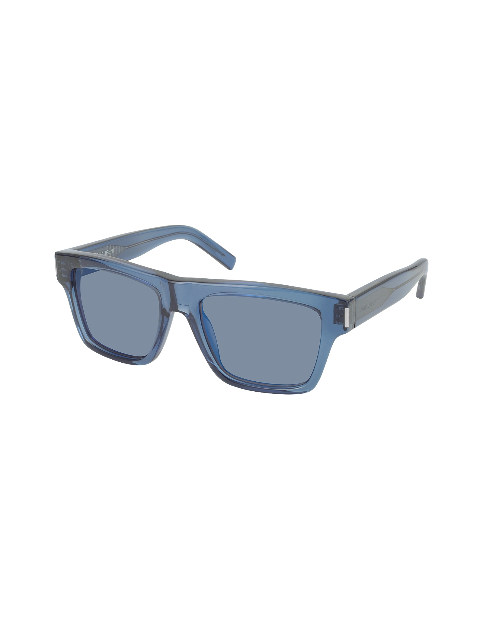 6af4db0bd52 Saint Laurent Bold 5 1gzxt Blue Acetate Sunglasses in Blue - Lyst