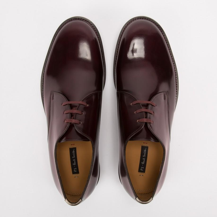 paul smith burgundy shoes