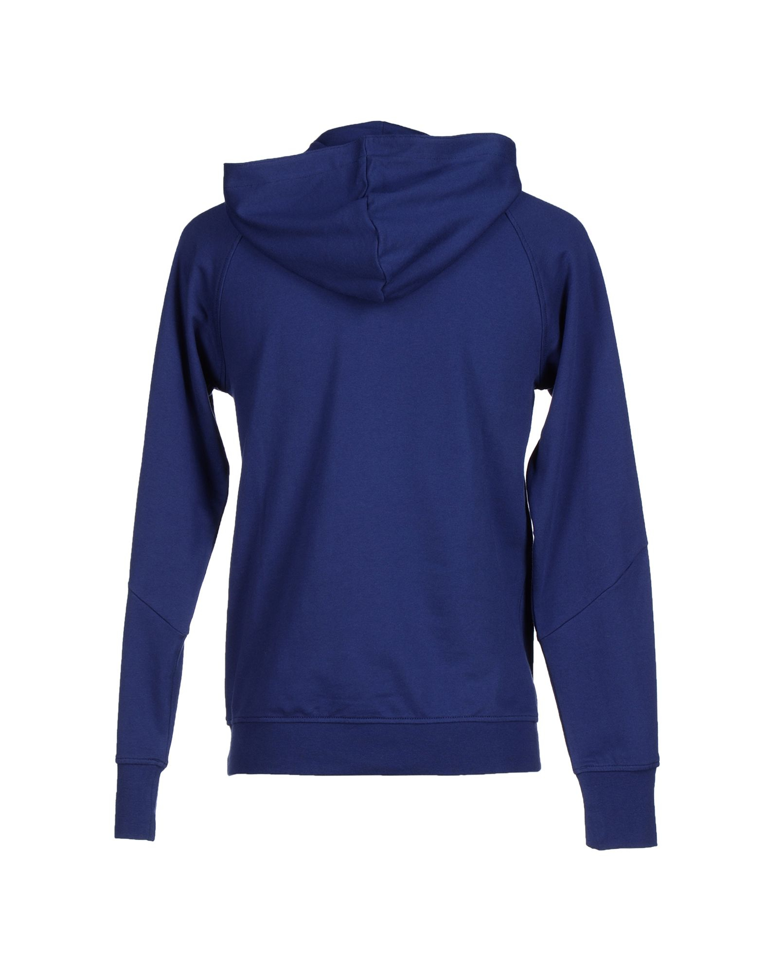 adidas originals sweatshirt in blue for men dark blue lyst. Black Bedroom Furniture Sets. Home Design Ideas